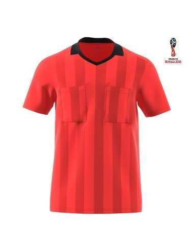 Camiseta Adidas Referee 18 rojo
