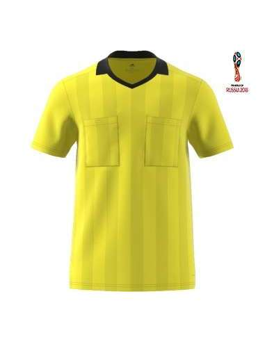 Camiseta Adidas Referee 18 amarillo