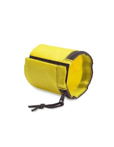 Muñequera guardallave amarillo