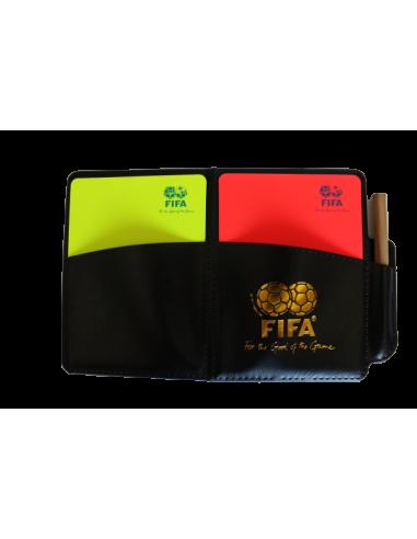 Tarjetero FIFA - logo azul