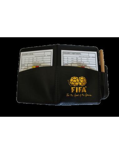 Tarjetero FIFA + 2 anotaciones