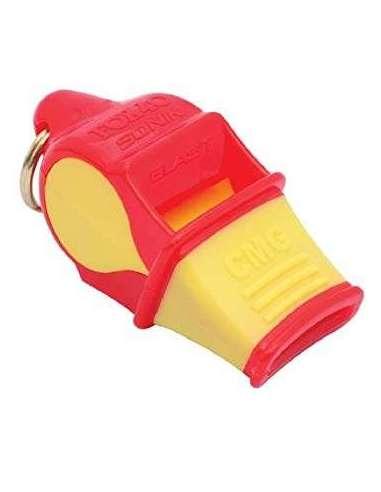 Silbato Sonik Blast CMG rojo/amarillo