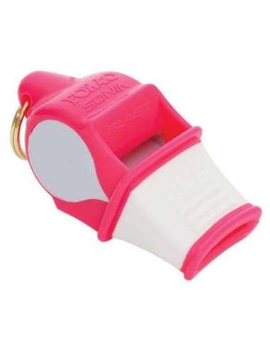 Silbato Sonik Blast CMG rosa/blanco
