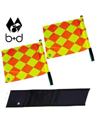 Banderines rombos giratorios b+d...